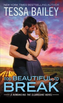 Too beautiful to break cover image