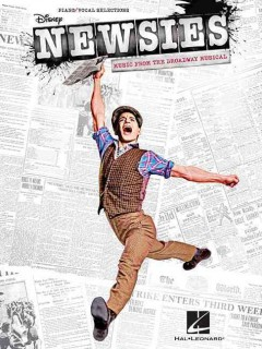 Newsies music from the Broadway musical : piano/vocal selections cover image