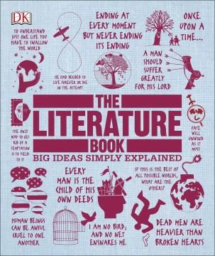 The literature book cover image
