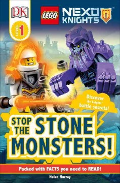 Stop the stone monsters! cover image