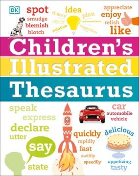 Children's illustrated thesaurus cover image