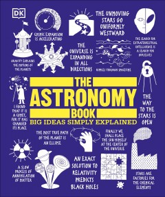The astronomy book cover image