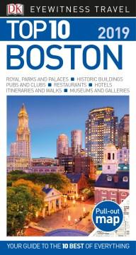 Eyewitness travel. Top 10 Boston cover image