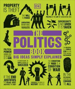 The politics book cover image