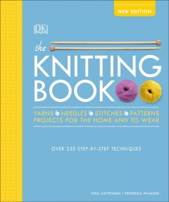 The knitting book cover image