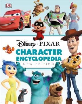 Disney Pixar character encyclopedia cover image