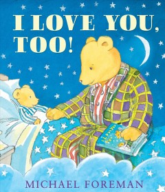 I love you, too! cover image