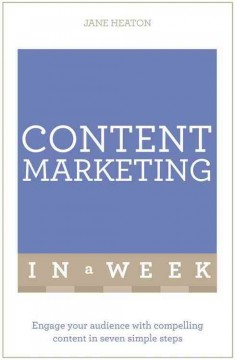 Teach yourself. Content marketing in a week cover image