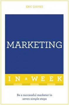 Teach yourself  marketing in a week cover image