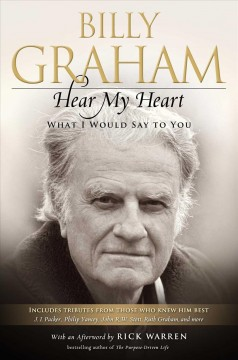 Hear my heart : what I would say to you cover image
