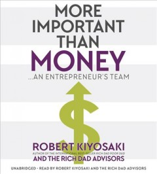 More important than money an entrepreneur's team cover image