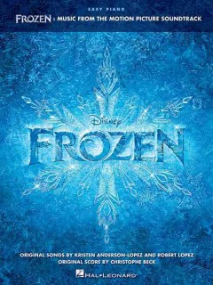 Frozen music from the motion picture soundtrack cover image