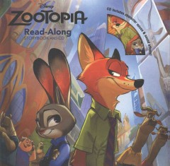 Zootopia : read-along storybook and CD cover image
