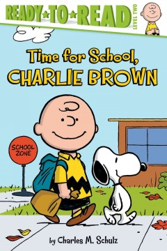 Time for school, Charlie Brown cover image