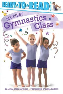 My first gymnastics class cover image