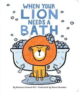 When your lion needs a bath cover image