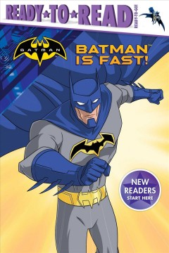 Batman is fast! cover image