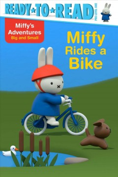 Miffy rides a bike cover image