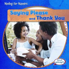 Saying please and thank you cover image