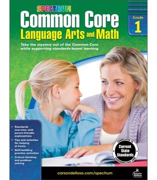 Common core language arts and math, Grade 1 cover image