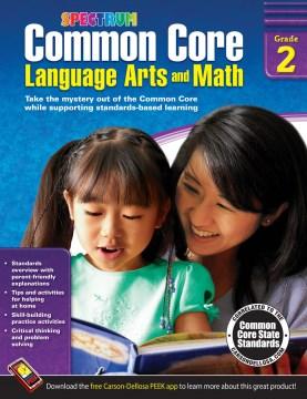 Common core language arts and math, Grade 2 cover image