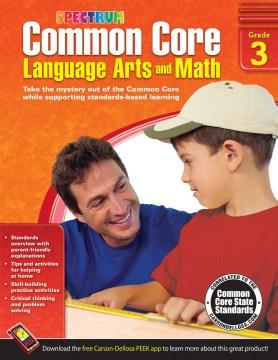 Common core language arts and math, Grade 3 cover image