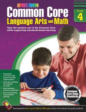 Common core language arts and math, Grade 4 cover image