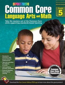 Common core language arts and math, Grade 5 cover image