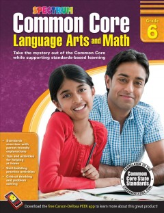 Common core language arts and math, grade 6 cover image