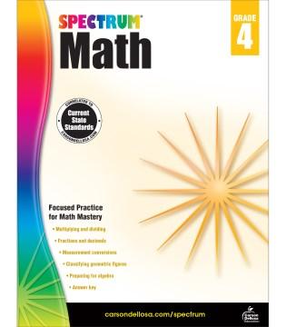 Spectrum math. Grade 4 cover image
