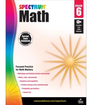 Math. Grade 6 cover image