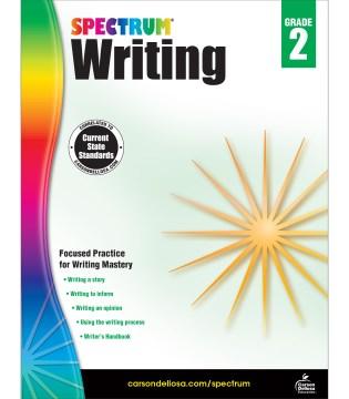 Spectrum writing. Grade 2 cover image