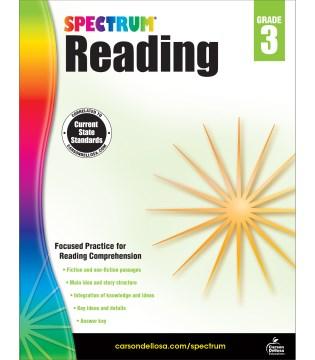 Spectrum reading. Grade 3 cover image