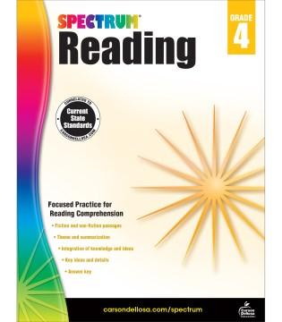 Spectrum reading. Grade 4 cover image