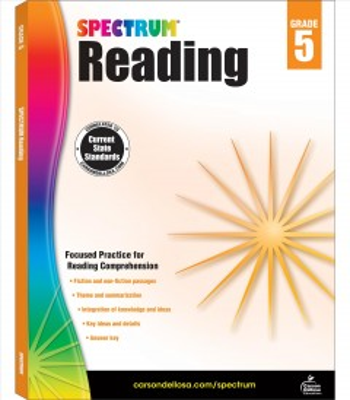 Spectrum reading. Grade 5 cover image