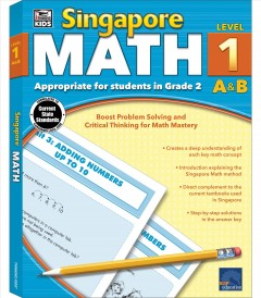 Singapore math. Level 1 A&B cover image