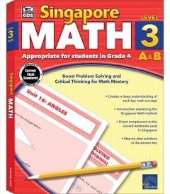 Singapore math. Level 3 A&B cover image