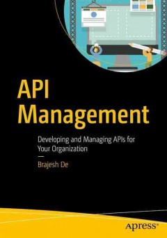 API management : an architect's guide to developing and managing APIs for your organization cover image