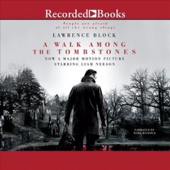 A walk among the tombstones cover image