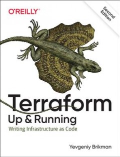 Terraform : up and running : writing infrastructure as code cover image