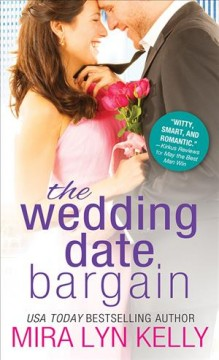 The wedding date bargain cover image