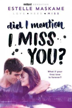 Did I mention I miss you? cover image