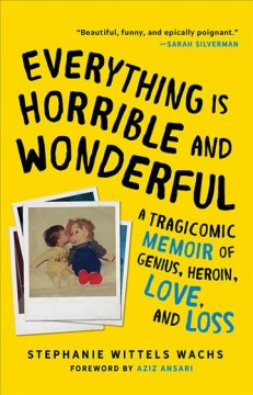 Everything is horrible and wonderful a tragicomic memoir of genius, heroin, love, and loss cover image