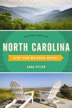 Off the beaten path. North Carolina cover image