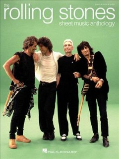 The Rolling Stones sheet music anthology piano, vocal, guitar cover image