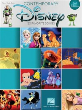 Contemporary Disney piano, vocal, guitar cover image