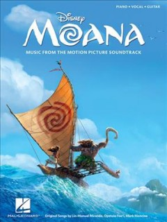 Moana music from the motion picture soundtrack cover image
