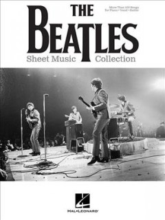 The Beatles sheet music collection cover image