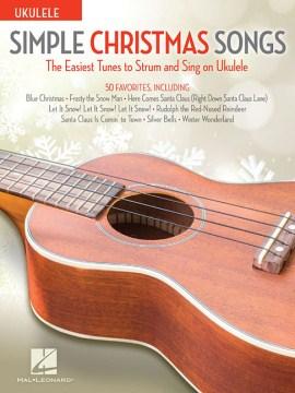 Simple Christmas songs. Ukulele cover image