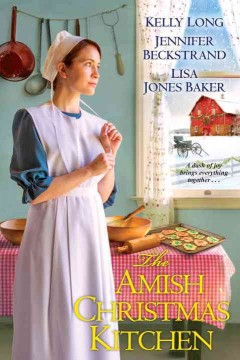 The Amish Christmas kitchen cover image